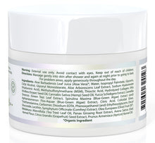 Organic Aloe Vera based moisturizer for face and body. 8 oz. jar.