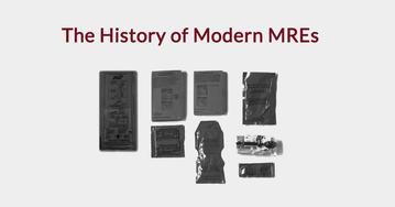 The History of Modern MREs