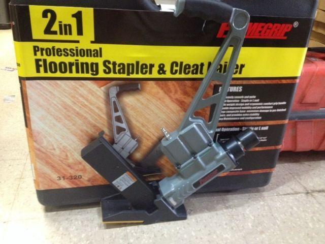 PRIMEGRIP 2 in 1 Flooring Stapler and Cleat Nailer