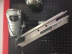 "HITACHI NR90AD(S1) 3-1/2"" Paper Collated Framing Nailer (Refurbished)"