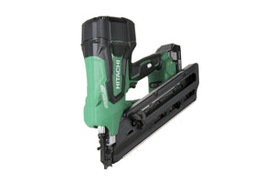 "HITACHI NR1890DC 18V Cordless 3-1/2"" Paper Strip Framing Nailer Kit"