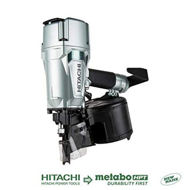 HITACHI METABO HPT NV83A5 3-1/4 Coil Framing Nailer (Refurbished)