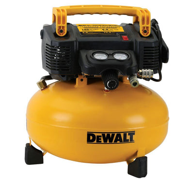 DEWALT DWFP55126 6 Gallon 165 PSI Pancake Air Compressor (Refurbished)