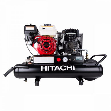 HITACHI METABO HPT EC2510E 8-Gallon 5.5 HP Gas Powered Wheeled Air Compressor