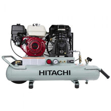 HITACHI METABO HPT EC2610E 8-Gallon Gas Powered Wheelbarrow Air Compressor