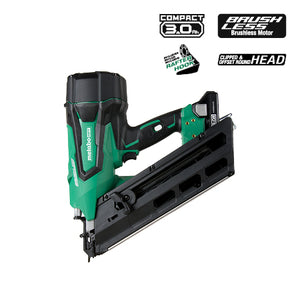 "HITACHI METABO HPT NR1890DC 18V Cordless 3-1/2"" Paper Strip Framing Nailer Kit (Refurbished)"