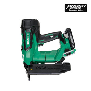 "HITACHI NT1850DE 2"" 18V 18Ga Cordless Brad Nailer Kit - Refurbished"
