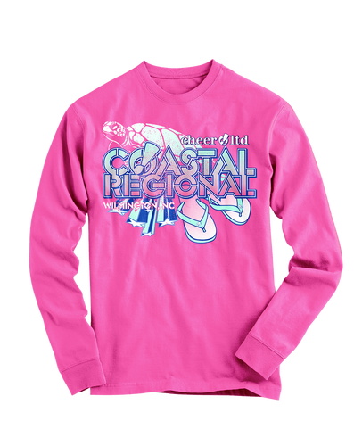 Coastal Regional Official Event LONG SLEEVE Shirt - Cheer Ltd