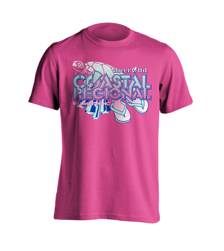 Coastal Regional Official Event SHORT SLEEVE Shirt - Cheer Ltd