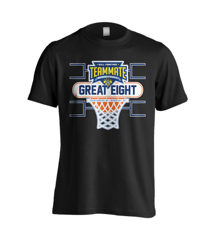 2019 TEAMMATE Basketball The Great Eight - Short Sleeve