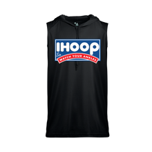 iHoop Dry-Fit Sleeveless Hood Tee - Black