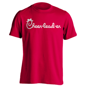 Cheerleader Chick T-Shirt - Red