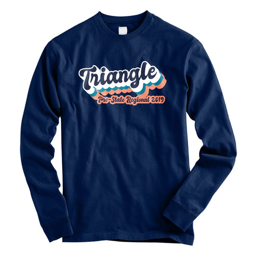 2019 Triangle Regional Official Event Long Sleeve Shirt - Varsity Spirit