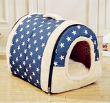 Dog Bed for Small And Large Dogs Houses Kennel Warm House Slippers Pet Dog Bed Detachable Cushion puppy Cat Bed Bag Pet Products