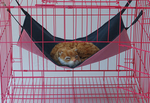 Cat Bed Pet Hammock Oxford Rat Waterproof Cat Hammock Soft Dog Bed Small Animal Pet Products Rest Cat House Mat Pet Supplies