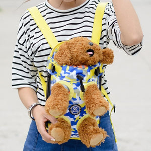 Pet Puppy Dog Carrier Backpack Camouflage Colorful Dogs Legs Out Front Carrier Bag Pet Products For Dog