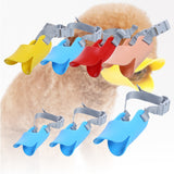 Adjustable Duckbill Dog Muzzles Anti Bite Pet Mask Silicone Pet Products for Small Large Dog Chew Toy Dog Accessories