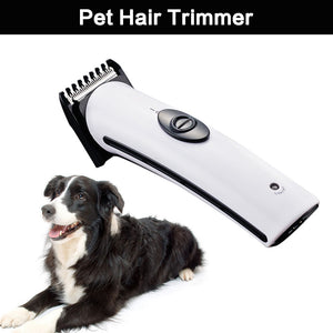 Rechargeable Cat Dog Hair Trimmer Electrical Pet Hair Clipper Remover Cutter Dog Grooming Pet Product Haircut Machine