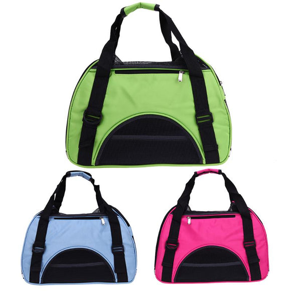 Portable Pet Dog Bags Breathable Puppy Travel Carrier Bags for Dog PE Corduroy Mesh Cat-carrying Pet Products