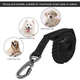 2 in 1 Multi-functional Flexible Retractable Pet Leash Traction Rope & Pet Sport Collar Dogs Harnesses Pet Products