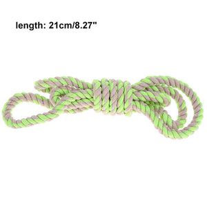 Resistant Pet Dog Molars Chew Toy Braided Cotton Rope Chew Teething Toys  for Small Medium Large Dog Pet Products