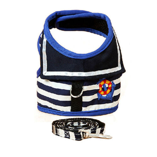 Dog /puppy Vest Harness w/ Leash Leads