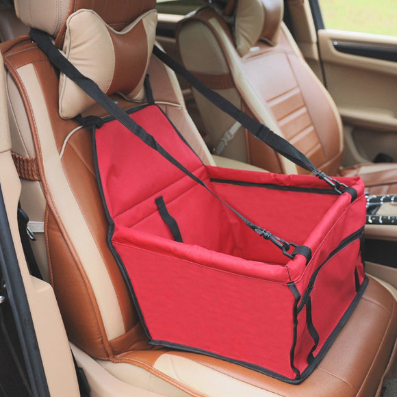 Hanging bag/basket Travel padded Car Seat for Cat and Dog