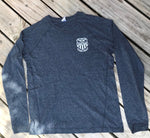 Long Sleeve T-Shirt - Navy Heather