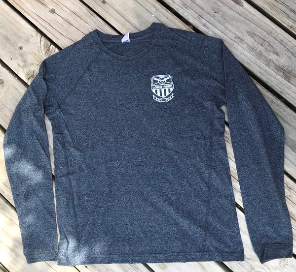 NEW Long Sleeve T-Shirt - Navy Heather