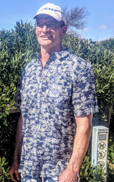 2018-19 Long Reef Okanui Party Shirt - Navy