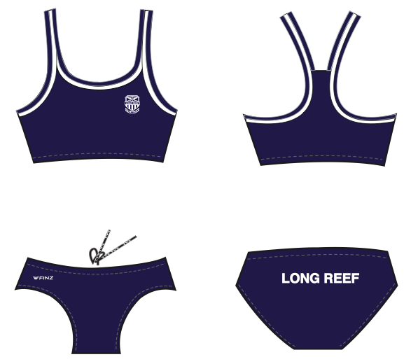 Swimmers - Girls 2-piece (FINZ)