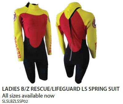 Patrol Gear - LADIES B/Z RESCUE/LIFEGUARD LS SPRING SUIT - PreOrder