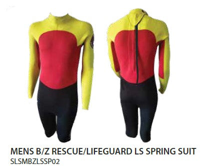 Patrol Gear - MENS B/Z RESCUE/LIFEGUARD LS SPRING SUIT - PreOrder
