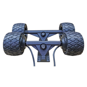 Free Express shipping 110*65mm All Terrain Rubber Motor Kit