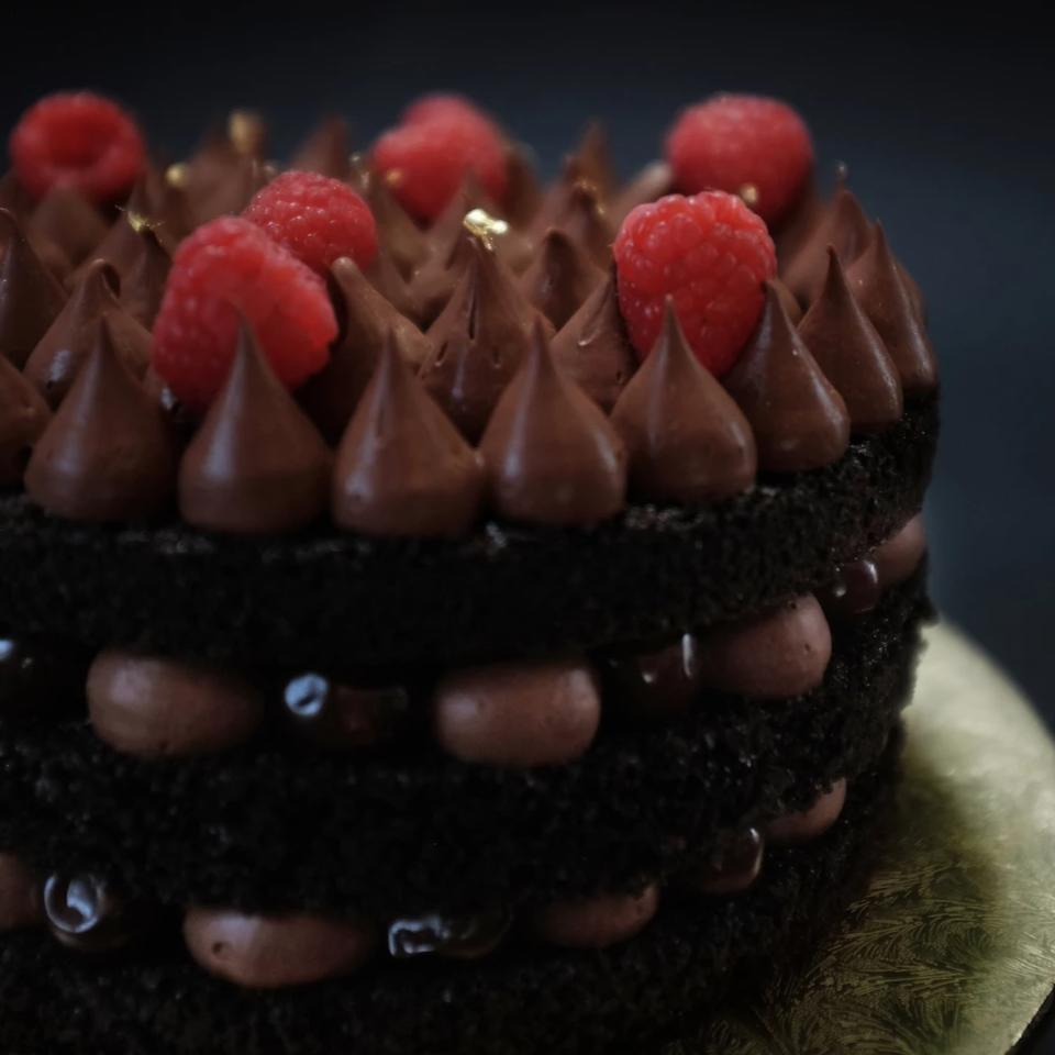 Cognac Black Forest Cake