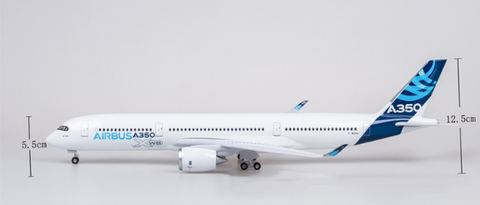 Kamory Model Airplanes | Airbus House A-350 Airplane W/GEAR
