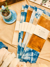 Load image into Gallery viewer, Naturally Dyed Cotton Beeswax Wraps