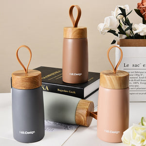 Insulated Wooden Coffee Mug