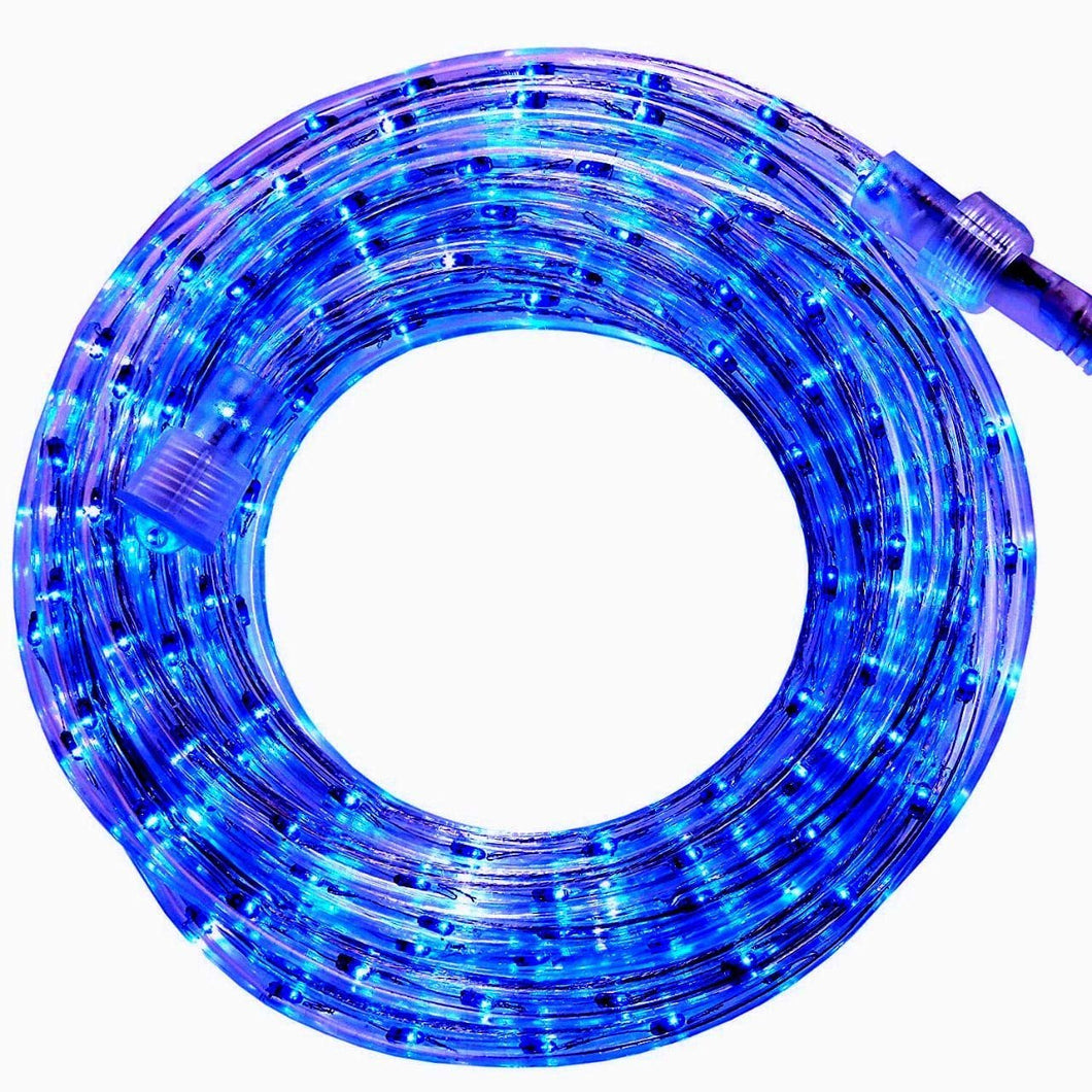 Blue 18 Feet Blue Rope Light for Indoor and Outdoor use