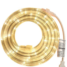 Load image into Gallery viewer, Warm White 18 Feet LED  Rope Light for Indoor and Outdoor use
