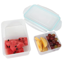 Load image into Gallery viewer, Persik Leak Proof Lunch Box Containers - 27 oz. (800 ml) Bento Meal Prep Containers with 3 Divided Removable Compartment Portion Control + PLUS BONUS + 5 oz. (150 ml) Snack/Soup Food storage Container