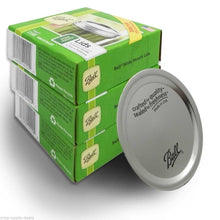 Load image into Gallery viewer, Ball Wide Mouth Lids 3 Dozen or a Total of 36 Canning Preserving Wide Lids,...
