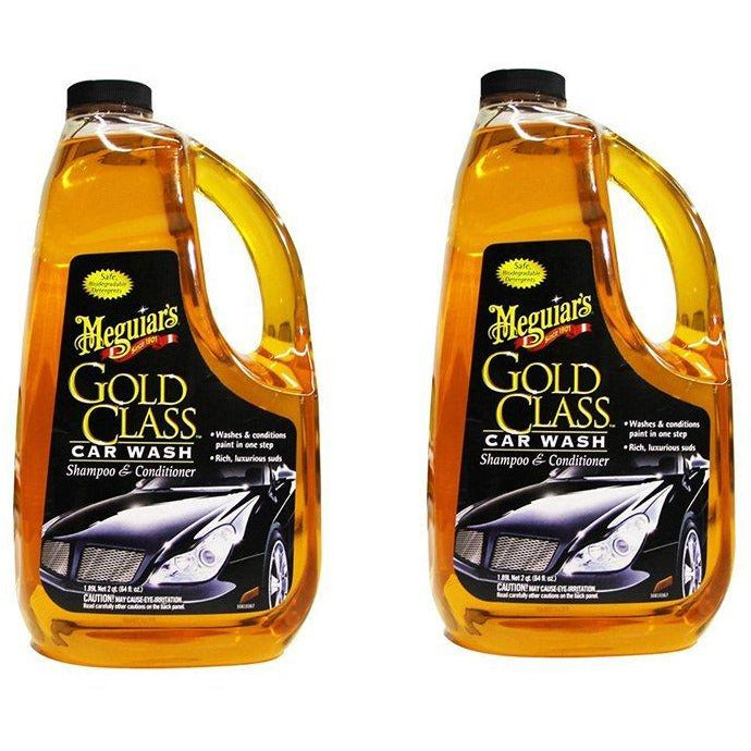 Meguiars G7164 Gold Class Car Wash Shampoo & Conditioner HFSRQ, 2Units (Car Wash Shampoo & conditioner)