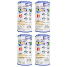Load image into Gallery viewer, Intex Type A Easy Set Pool Filter Cartridge (4-Pack) | 29000E (59900E)