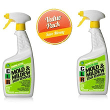 Load image into Gallery viewer, CLR PB-CMM-6 Mold and Mildew Stain Remover, 32 oz. Spray Bottle(Pack of 2)