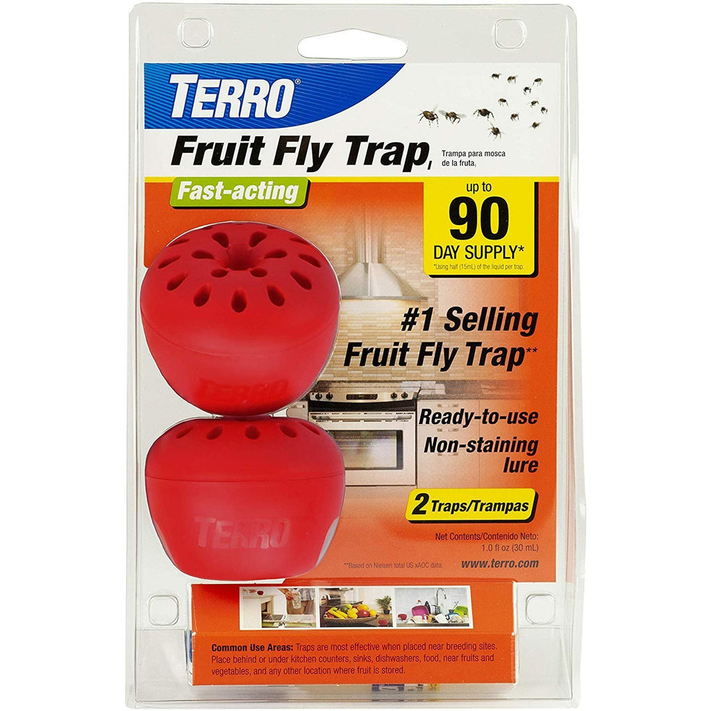 Woodstream TERRO Fruit Fly Trap – 2 Pack VAR
