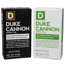 Load image into Gallery viewer, Duke Cannon Brick Of Soap - Big American Productivity & Accomplishment Combo Pack - 2 Bars of Soap
