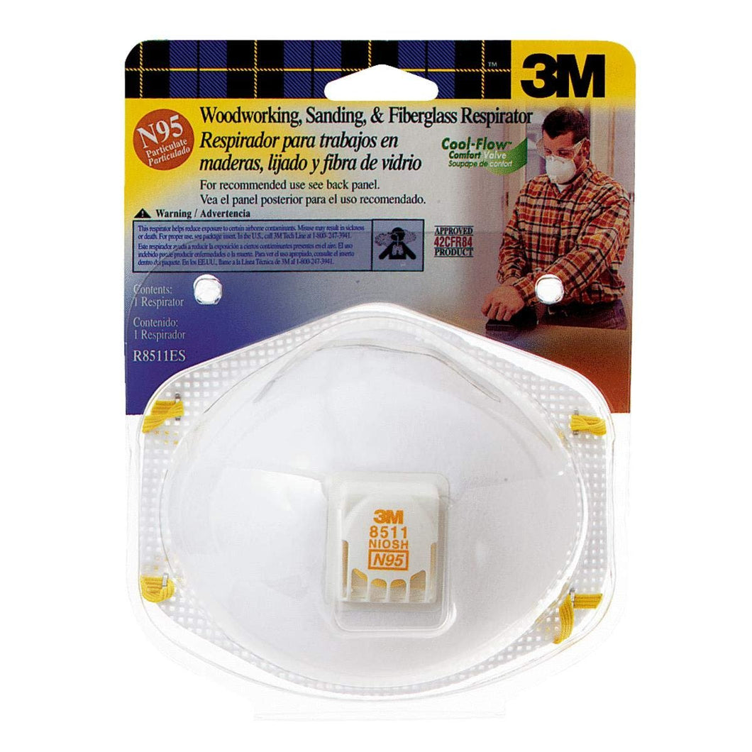 Disposable Respirator, N95, Universal