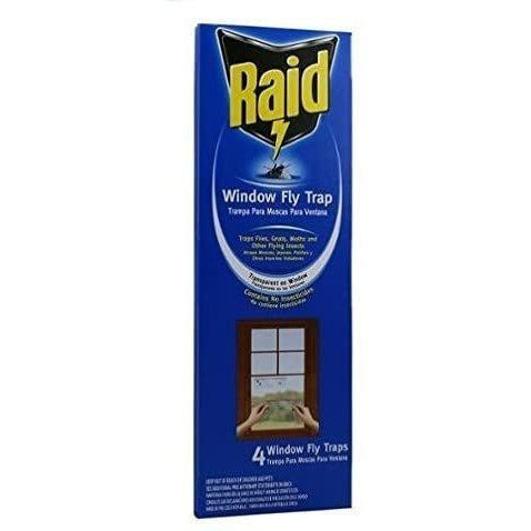 Raid Window Fly Trap, 4ct (Pack of 1)