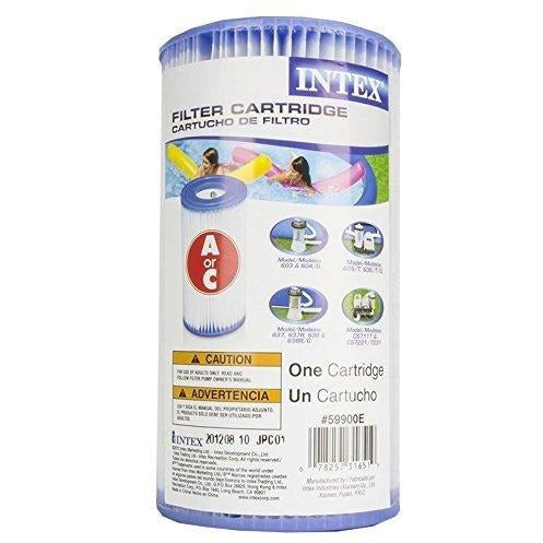 Intex Type A Easy Set Pool Filter Cartridge (4-Pack) | 29000E (59900E)